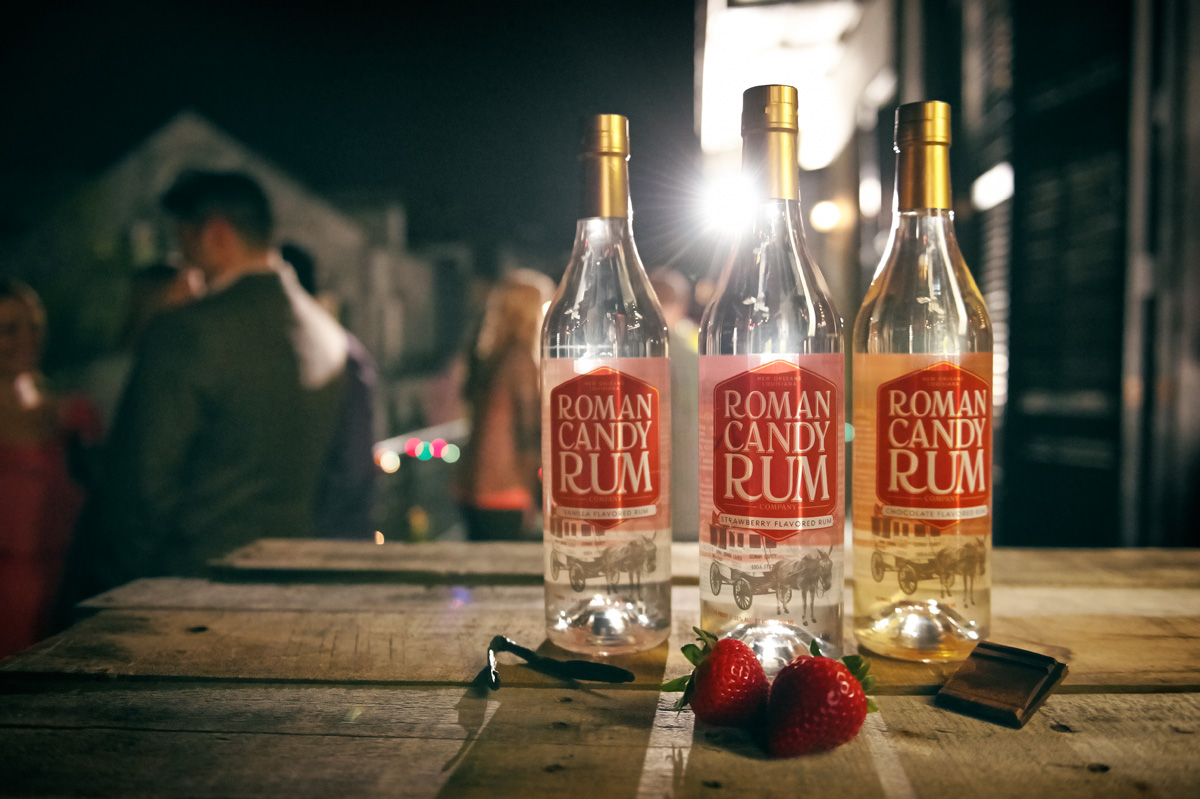 Roman Candy Rum | Roman Candy Company | Gourmet Taffy from